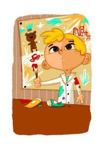 Famille talentueuse - Illustration : O. Huette